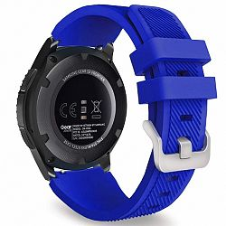 Samsung Gear S3 Silicone Sport szíj, Coral Blue