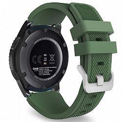 Samsung Gear S3 Silicone Sport szíj, Dark Green