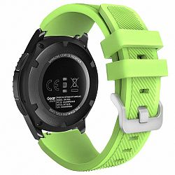 Samsung Gear S3 Silicone Sport szíj, Green