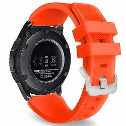Samsung Gear S3 Silicone Sport szíj, Neon Orange