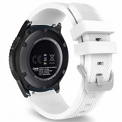 Samsung Gear S3 Silicone Sport szíj, White
