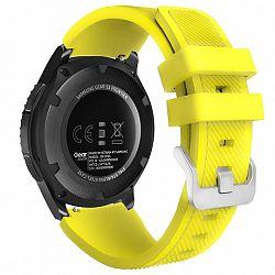Samsung Gear S3 Silicone Sport szíj, Yellow