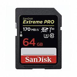 SanDisk Extreme Pro SDXC 64GB V30 C10/UHS-I/U3 (SDSDXXY-064G-GN4IN)