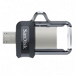 SanDisk Ultra Dual 64GB USB 3.0, fekete (SDDD3-064G-G46)