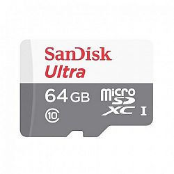 SanDisk Ultra microSDXC 64GB C10/UHS-I (SDSQUNS-064G-GN3MN)