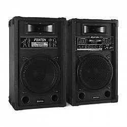 Skytec Aktív Fenton SPA1000 PA-hangfal szett 800W 2 x 25 cm USB-SD-MP3