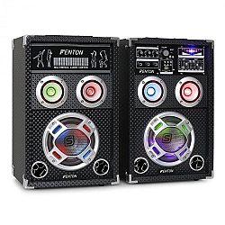 Skytec KA-06, 400W, aktív PA karaoke hangfal készlet