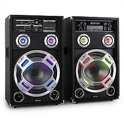 Skytec KA-12 aktív karaoke PA hangfal szett, USB, SD, AUX