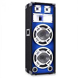 Skytec PA hangfal 2 x 25 cm subwooferrel, kék LED fény