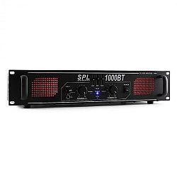 Skytec SPL 1000BT,1000W,hifi/PA erősítő,bluetooth,AUX,EQ,LED