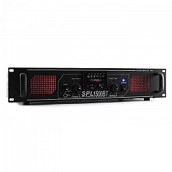 Skytec SPL 1500BTMP3,1500 W,hifi/PA erősítő,bluetooth,USB,SD