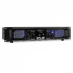 Skytec SPL 300MP3, 300 W, erősítő, MP3, USB, SD