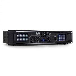 Skytec SPL700 DJ PA Audio LEd erősítő 2000W ekvalizer