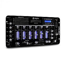 Skytec STM-3007, 6 csatornás DJ keverőpult, bluetooth, USB, SD, MP3