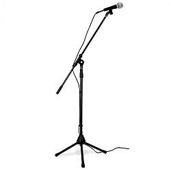 Skytronic Flexibilis mikrofonszett, háromlábú sztatív, táska, XLR