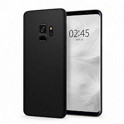 Spigen AirSkin Ultra Thin szilikon tok Samsung Galaxy S9 G960, fekete (592CS22867)