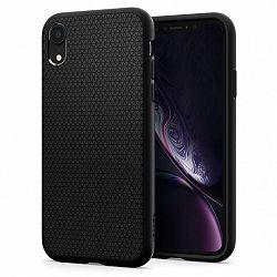 Spigen Liquid Air szilikon tok iPhone XR, fekete (064CS24872)