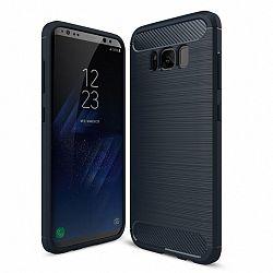 Szilikon tok Carbon Flexible Samsung Galaxy S8 Kék