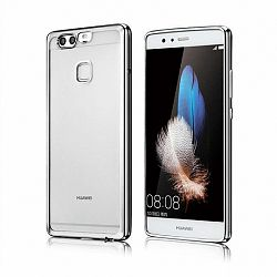 Szilikon tok Metalic Slim Huawei P10 Lite Ezüst
