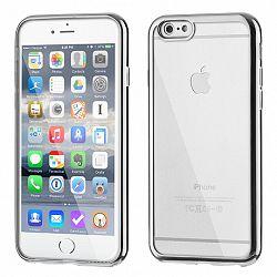 Szilikon tok Metalic Slim iPhone 6/6S Plus Ezüst