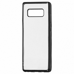 Szilikon tok Metalic Slim Samsung Galaxy S9 Fekete