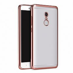Szilikon tok Metalic Slim Xiaomi Redmi Note 4 (MediaTek) Lila