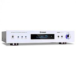 Térerősítő Auna AMP-9200, fehér külső, 600 W-os