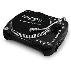 USB SD Ibiza Free Vinyl lemezlejátszó komprimáló funkcióval