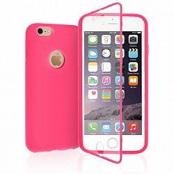 YouSave szilikon tok TPU Silicone Wallet iPhone 6/6s rózsaszín