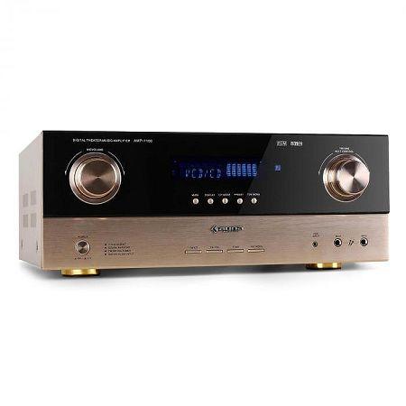 7.1-AV adóvevő Auna AMP-7100 2000W-erősítő, bronz