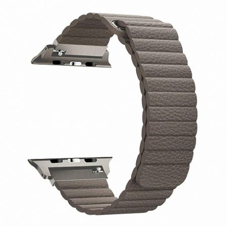 Apple Watch Leather Loop 38/40mm szíj, Brown