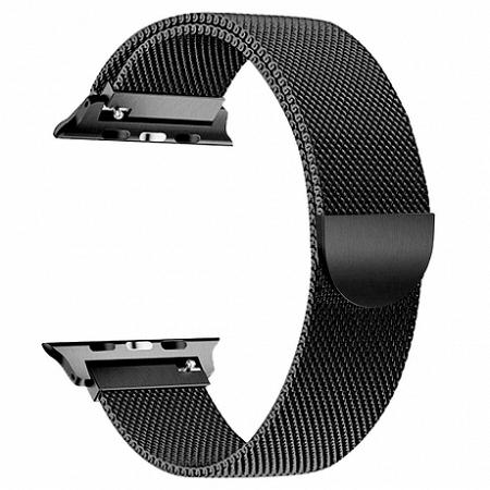 Apple Watch Milanese 42/44mm szíj, Black