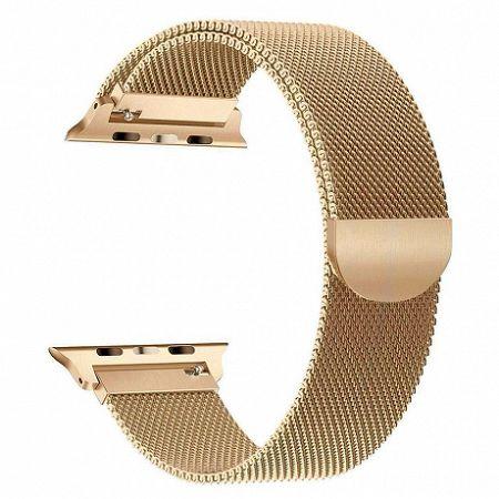 Apple Watch Milanese 42/44mmszíj, Golden