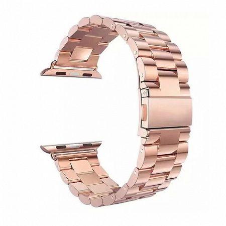 Apple Watch Stainless Steel Boston 38/40mm szíj, Rose Gold