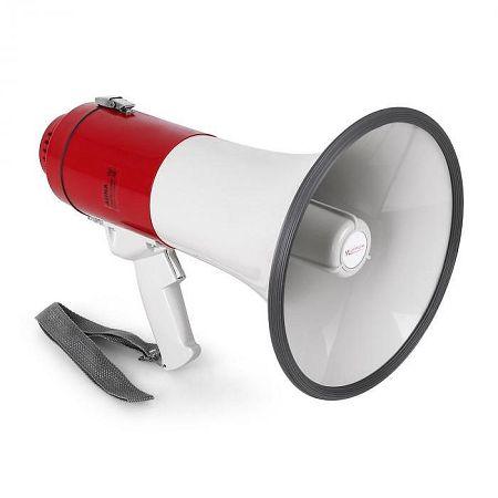Auna megafon, kondenzátoros mikrofon, 25 W, 600 m
