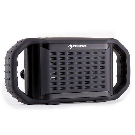 Auna Poolboy, bluetooth hangfal, fekete, USB, AUX, vízhatlan