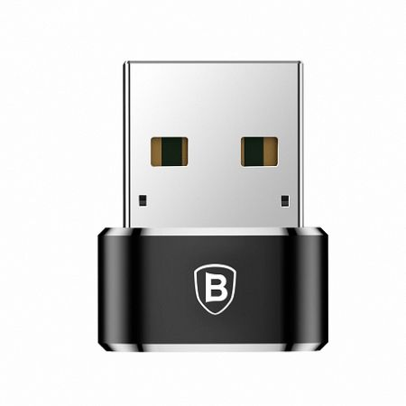 Baseus adapter USB Type-C / USB, fekete (CAAOTG-01)