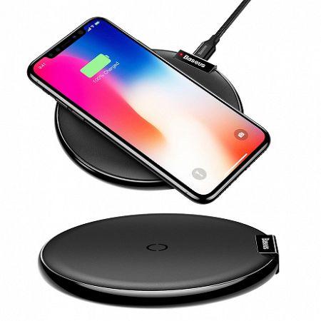 Baseus iX Wireless Charger vezeték nélküli töltő Qi, fekete