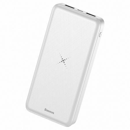 Baseus M36 power bank USB / micro USB 10000 mAh, fehér