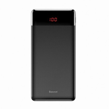 Baseus Mini Cu power bank 10000 mAh 2x USB 2.1A, fekete (PPALL-AKU01)