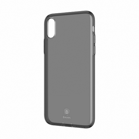 Baseus Simple Series szilikon tok iPhone X/XS, fekete