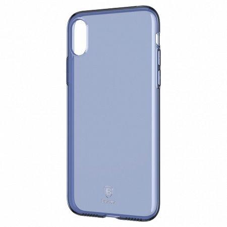 Baseus Simple Series szilikon tok iPhone X/XS, kék