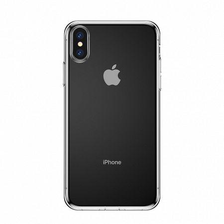 Baseus Simplicity szilikon tok iPhone XS Max, átlátszó (ARAPIPH65-A02)