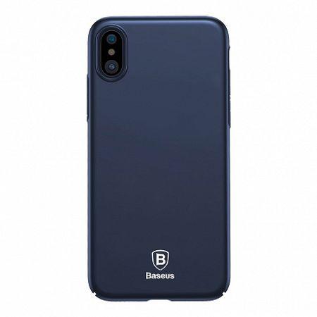 Baseus Thin műanyag tok iPhone X/XS, kék