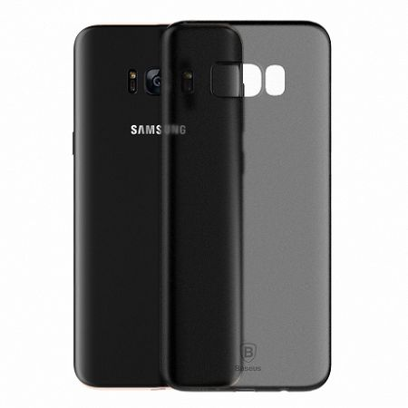 Baseus Wing Ultra Thin szilikon tok Samsung Galaxy S8 Plus, fekete