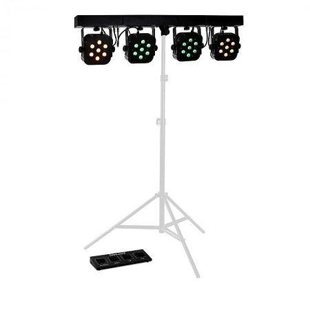 Beamz LED PARBAR 4 Way, 7x10 W, quad LED diódás fényeffektus