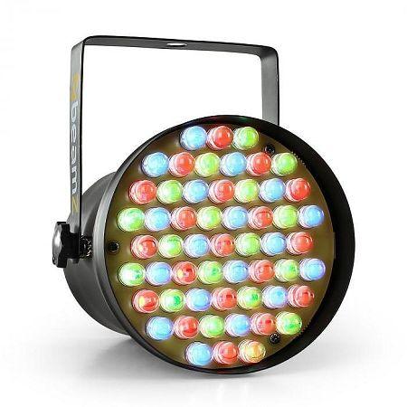 Beamz PAR36 SPOT, 8W, reflektor, 55 x 10mm, LED DMX RGB