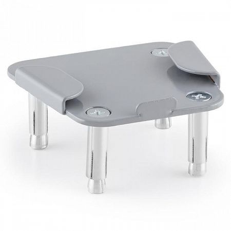 Blumfeldt adapter lemez Bari oldalnapellenzőhöz, acél, porszórt lakkozású