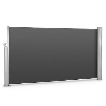 Blumfeldt Bari 316 oldal napellenző, 300x160 cm, alumínium, antracit