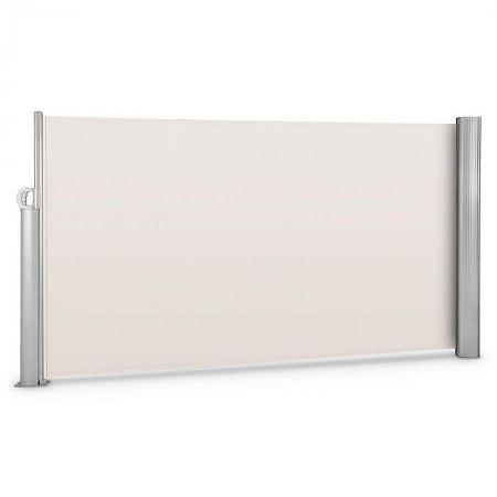 Blumfeldt Bari 316 oldal napellenző, 300x160 cm, alumínium, krémszínű